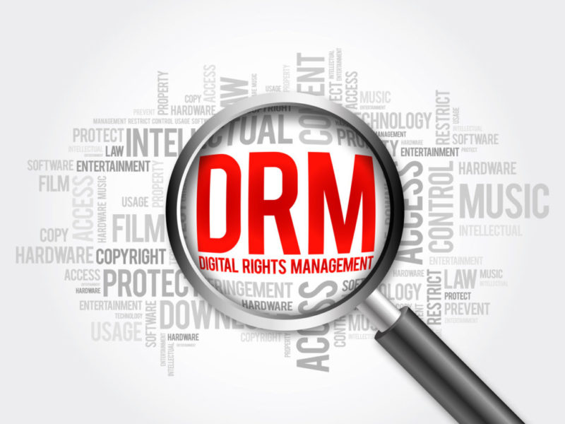 ebook con adobe drm digital rights management