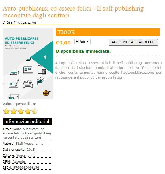 realizzare la copertina per un ebook idoneo per Amazon