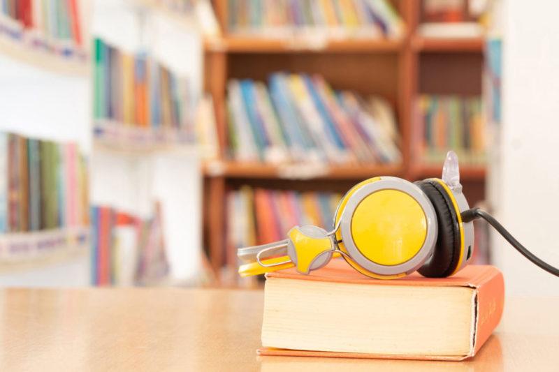 crescita del consumo di audiolibri nel 2018
