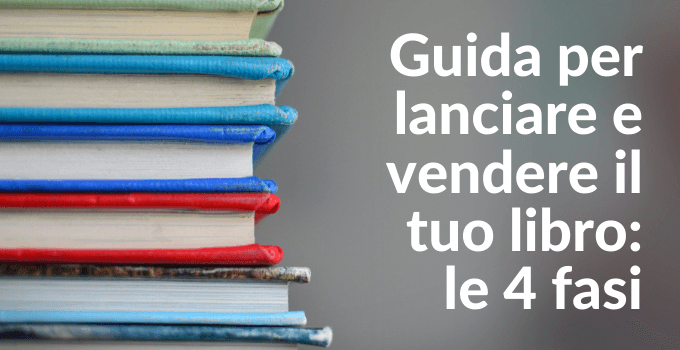 lancio del libro in self publishing