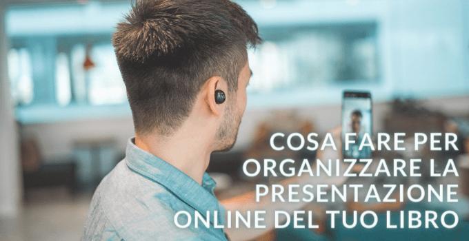 organizzare presentazione online del libro