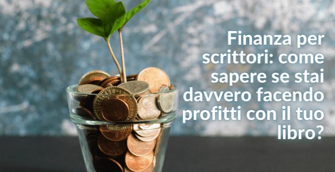 la finanza per scrittori in self publishing