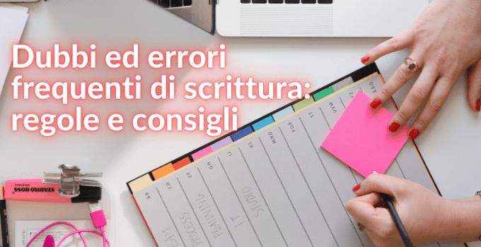 errori di scrittura